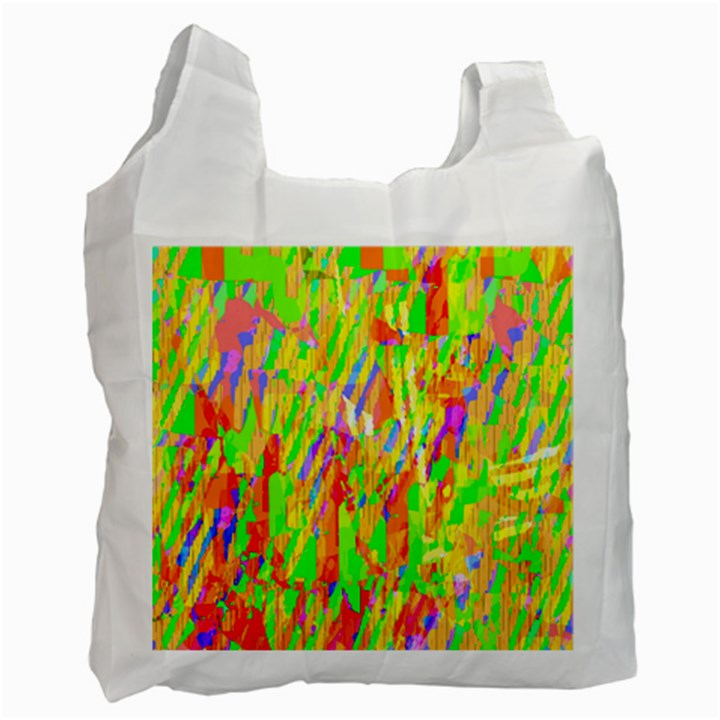 Cheerful Phantasmagoric Pattern Recycle Bag (One Side)
