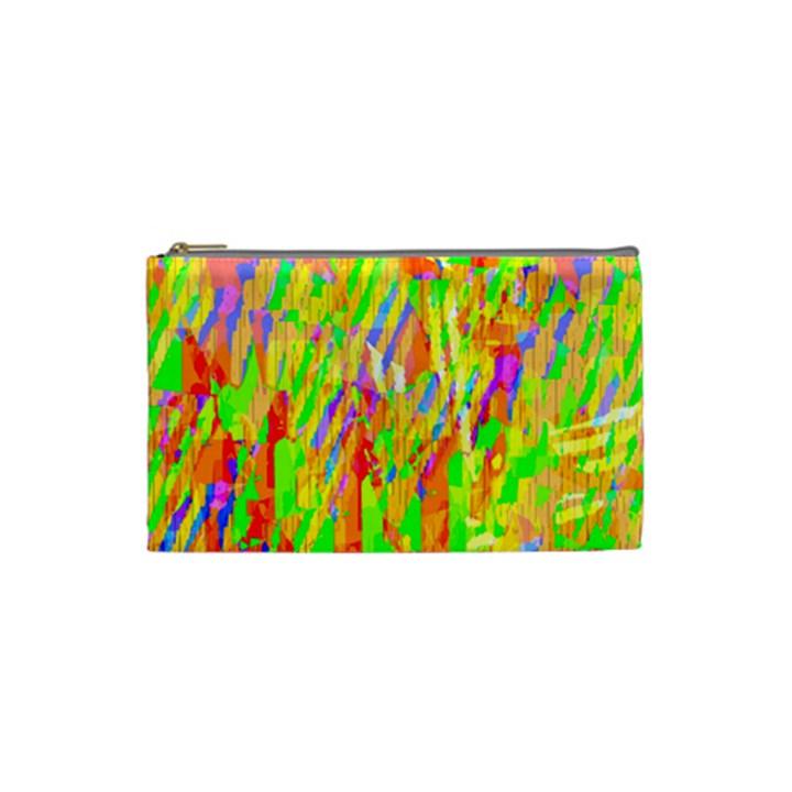 Cheerful Phantasmagoric Pattern Cosmetic Bag (Small)