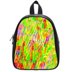 Cheerful Phantasmagoric Pattern School Bags (Small)  Front