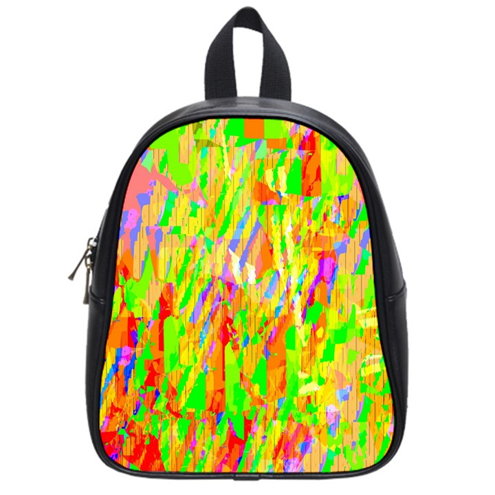 Cheerful Phantasmagoric Pattern School Bags (Small)