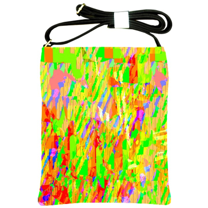Cheerful Phantasmagoric Pattern Shoulder Sling Bags