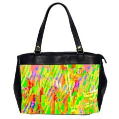 Cheerful Phantasmagoric Pattern Office Handbags (2 Sides)