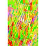 Cheerful Phantasmagoric Pattern 5.5  x 8.5  Notebooks Back Cover