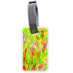 Cheerful Phantasmagoric Pattern Luggage Tags (One Side)  Front