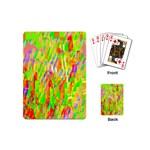 Cheerful Phantasmagoric Pattern Playing Cards (Mini)  Back