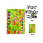 Cheerful Phantasmagoric Pattern Playing Cards 54 (Mini)  Front - Joker1