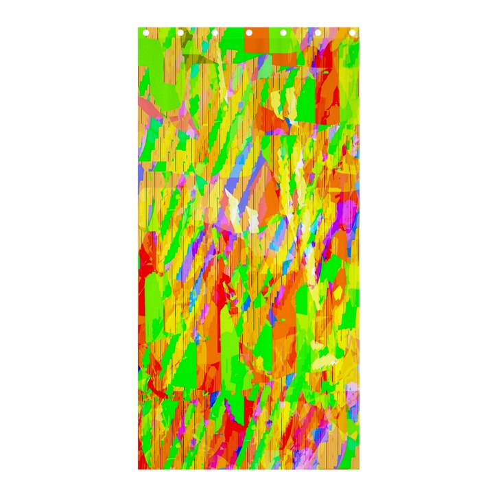 Cheerful Phantasmagoric Pattern Shower Curtain 36  x 72  (Stall)