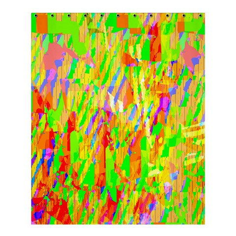 Cheerful Phantasmagoric Pattern Shower Curtain 60  x 72  (Medium)