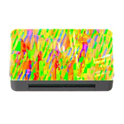 Cheerful Phantasmagoric Pattern Memory Card Reader with CF