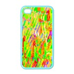 Cheerful Phantasmagoric Pattern Apple iPhone 4 Case (Color) Front