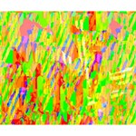 Cheerful Phantasmagoric Pattern Deluxe Canvas 14  x 11  14  x 11  x 1.5  Stretched Canvas