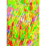 Cheerful Phantasmagoric Pattern WORK HARD 3D Greeting Card (7x5) Inside