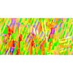 Cheerful Phantasmagoric Pattern Merry Xmas 3D Greeting Card (8x4) Front