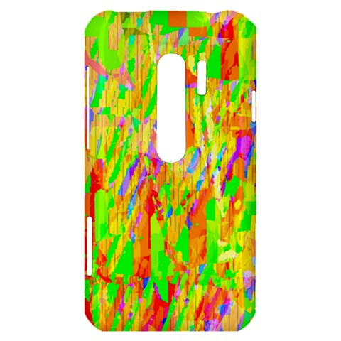 Cheerful Phantasmagoric Pattern HTC Evo 3D Hardshell Case