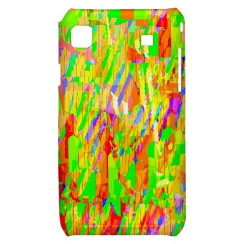 Cheerful Phantasmagoric Pattern Samsung Galaxy S i9000 Hardshell Case