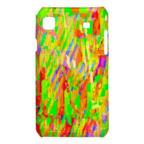 Cheerful Phantasmagoric Pattern Samsung Galaxy S i9008 Hardshell Case