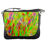 Cheerful Phantasmagoric Pattern Messenger Bags Front