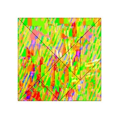 Cheerful Phantasmagoric Pattern Acrylic Tangram Puzzle (4  x 4 )