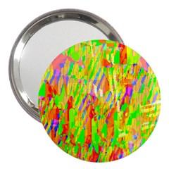 Cheerful Phantasmagoric Pattern 3  Handbag Mirrors