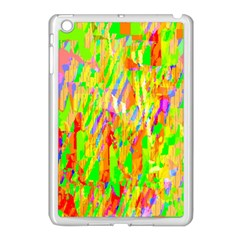 Cheerful Phantasmagoric Pattern Apple iPad Mini Case (White)