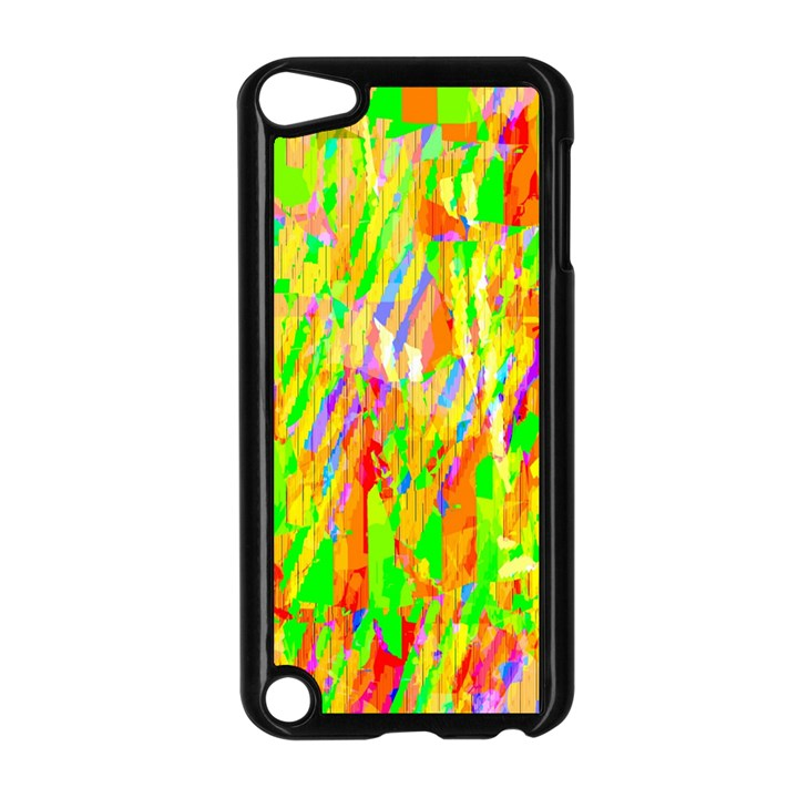 Cheerful Phantasmagoric Pattern Apple iPod Touch 5 Case (Black)