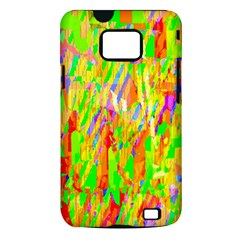Cheerful Phantasmagoric Pattern Samsung Galaxy S II i9100 Hardshell Case (PC+Silicone)