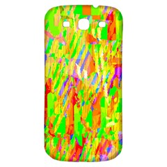 Cheerful Phantasmagoric Pattern Samsung Galaxy S3 S III Classic Hardshell Back Case