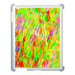 Cheerful Phantasmagoric Pattern Apple iPad 3/4 Case (White) Front