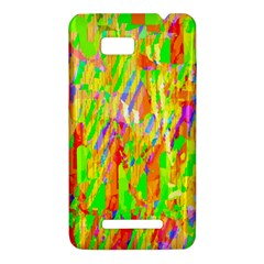 Cheerful Phantasmagoric Pattern HTC One SU T528W Hardshell Case