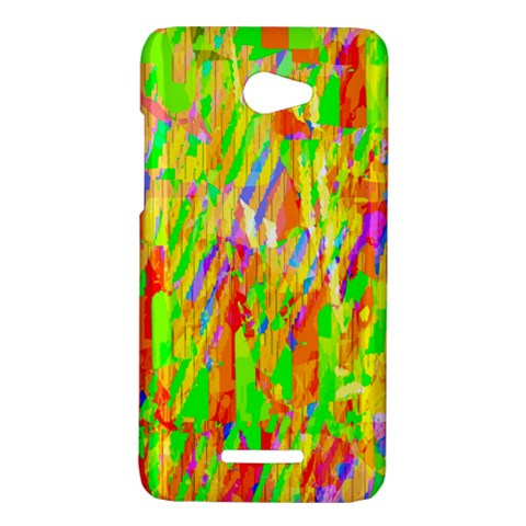 Cheerful Phantasmagoric Pattern HTC Butterfly X920E Hardshell Case