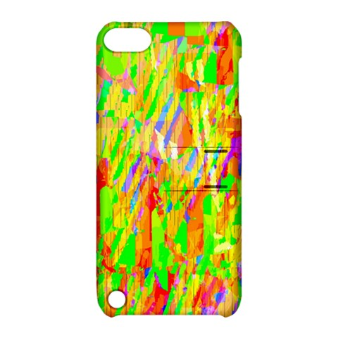 Cheerful Phantasmagoric Pattern Apple iPod Touch 5 Hardshell Case with Stand