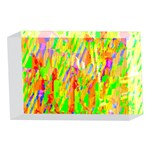 Cheerful Phantasmagoric Pattern 4 x 6  Acrylic Photo Blocks Front