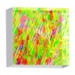 Cheerful Phantasmagoric Pattern 5  x 5  Acrylic Photo Blocks Front