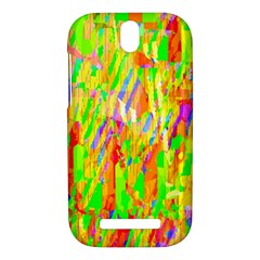 Cheerful Phantasmagoric Pattern HTC One SV Hardshell Case