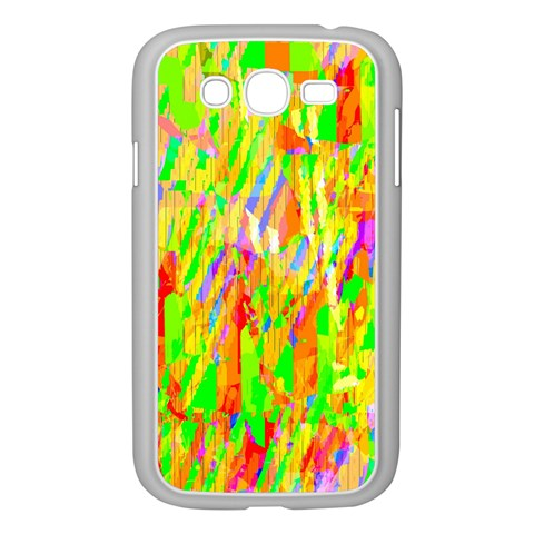 Cheerful Phantasmagoric Pattern Samsung Galaxy Grand DUOS I9082 Case (White)