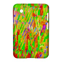 Cheerful Phantasmagoric Pattern Samsung Galaxy Tab 2 (7 ) P3100 Hardshell Case