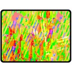 Cheerful Phantasmagoric Pattern Double Sided Fleece Blanket (Large)  80 x60 Blanket Front