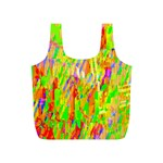 Cheerful Phantasmagoric Pattern Full Print Recycle Bags (S)  Front