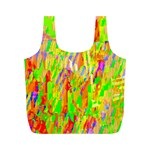 Cheerful Phantasmagoric Pattern Full Print Recycle Bags (M)  Front