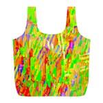 Cheerful Phantasmagoric Pattern Full Print Recycle Bags (L)  Front