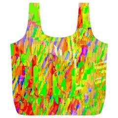 Cheerful Phantasmagoric Pattern Full Print Recycle Bags (L)