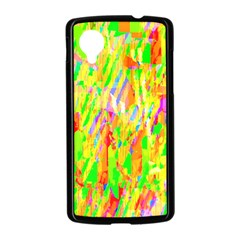Cheerful Phantasmagoric Pattern Nexus 5 Case (Black)