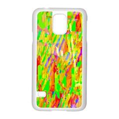 Cheerful Phantasmagoric Pattern Samsung Galaxy S5 Case (White)