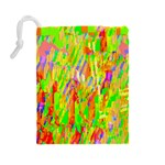 Cheerful Phantasmagoric Pattern Drawstring Pouches (Large)  Back