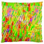 Cheerful Phantasmagoric Pattern Large Flano Cushion Case (Two Sides) Back
