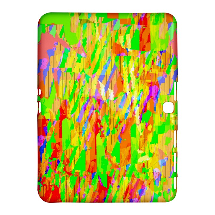 Cheerful Phantasmagoric Pattern Samsung Galaxy Tab 4 (10.1 ) Hardshell Case