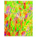 Cheerful Phantasmagoric Pattern Drawstring Bag (Small) Front