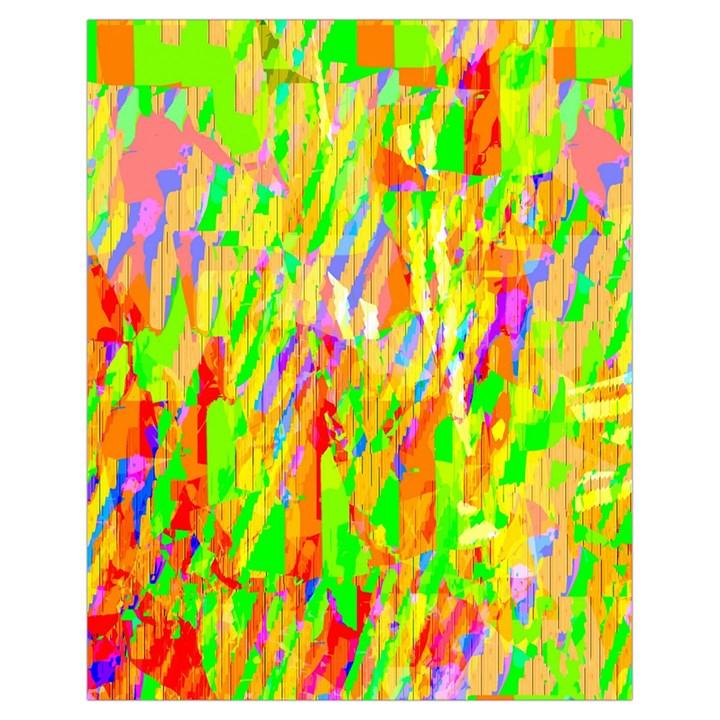 Cheerful Phantasmagoric Pattern Drawstring Bag (Small)