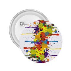 Crazy Multicolored Double Running Splashes 2.25  Buttons