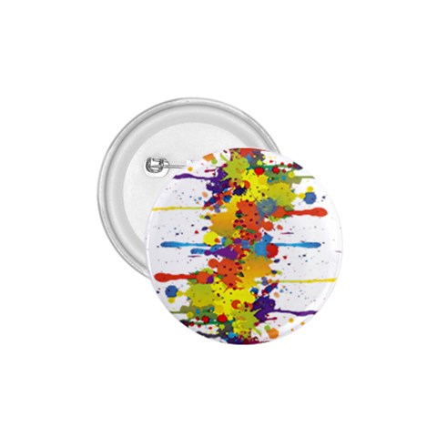 Crazy Multicolored Double Running Splashes 1.75  Buttons
